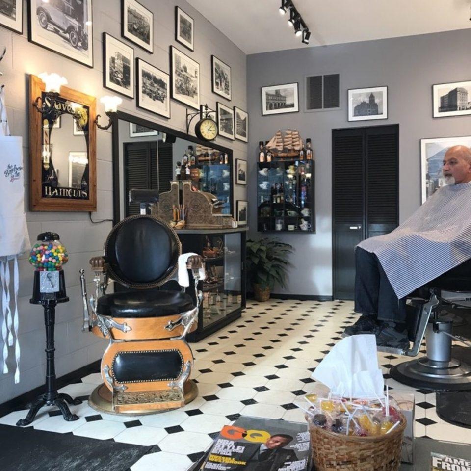Cavalier Men's Hairstyling