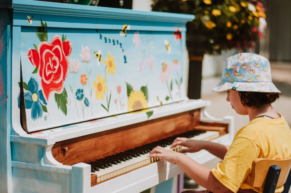 Come Play Piano Downtown!