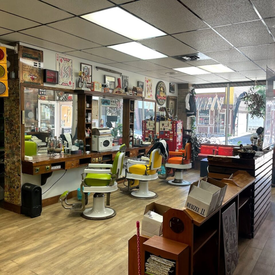 Photo by Back Alley Barber Shop - by appointment only.
