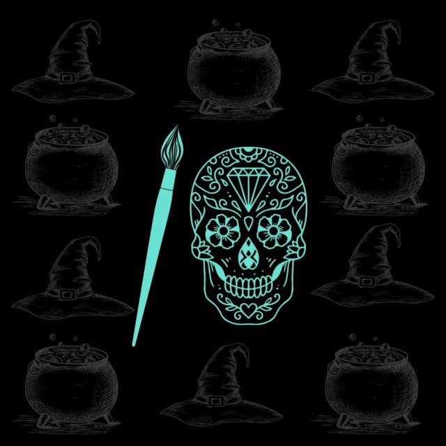 Season of the Witch – Sugar Skull Paint Night with ALK Artwork